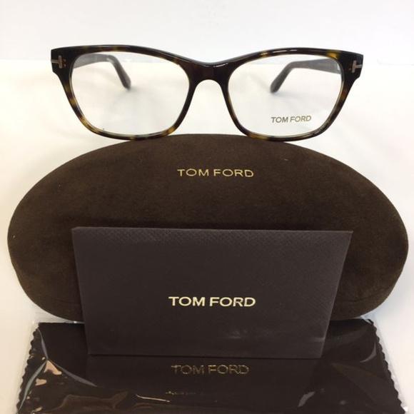 328bae9d5eb Tom Ford 5405 052 Havana plastic Eyeglasses 54mm